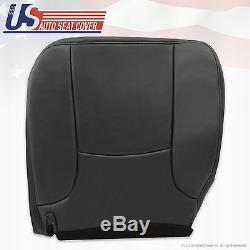 02 05 Dodge Ram 1500 Work Truck Driver Bottom OEM Replacement Seat Cover Gray