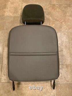 02-06 DODGE RAM Passenger SEAT BACKREST BACK REST FOAM CUSHION COVER TAUPE