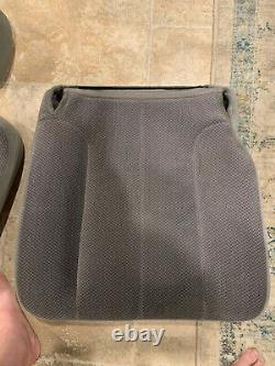 02-06 DODGE RAM Passenger SEAT BOTTOM FOAM frame and CUSHION COVER TAUPE