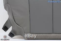 03 04 05 06 07 GMC Sierra Denali Truck -Passenger Bottom Leather Seat Cover Gray