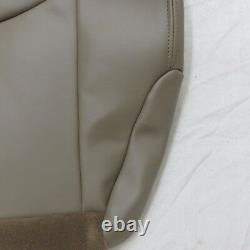 03-07 Chevy 1500-2500-3500-Truck Driver. Bottom Leathe seat cover Med Neutral TAN