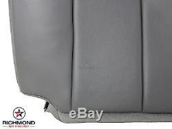 03-07 Chevy 3500 WT Work Truck 4X4 6.6L Diesel-Bottom VINYL Seat Cover Dark Gray