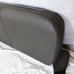 03-07 Ford F150, F250 F350 Work Truck Turbocharg GAS Bench Seat cover Vinyl GRAY