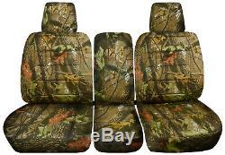 04-10 Ford F-150/F-250/F-350 40-20-40 Truck Camo Seat Covers +Console F-Series