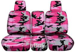 04-10 Ford F-150/F-250/F-350 40-20-40 Truck Camo Seat Covers +Console F-Series