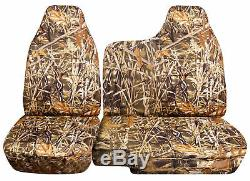 04-12 Chevy Colorado/GMC Canyon 60/40 Camouflage Truck Seat Covers No Armrest