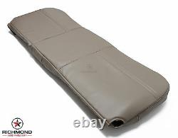 05-07 Ford Tow Truck -Roll Back Ramp -Wrecker -Bottom Vinyl Bench Seat Cover Tan