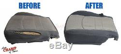 06-08 Ram 1500 SLT Big-Horn Lone-Star Driver Side Bottom Cloth Seat Cover Tan
