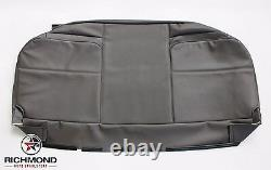08-10 Ford Tow Truck-Roll Back Ramp -Wrecker -Bottom Vinyl Bench Seat Cover Gray