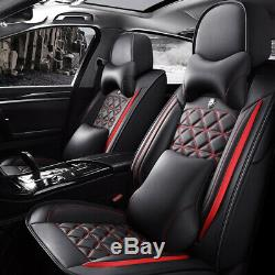 10pcs Car Seat Covers Full Set Fits Most Car Truck Van SUV Select Your Style
