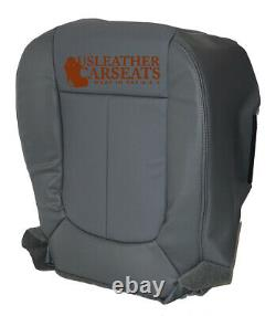 11-14 Ford F150 Work Truck Base Driver Bottom Vinyl Replacement Seat Cover Gray