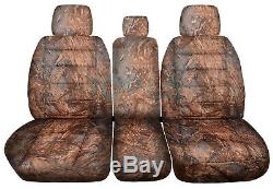 11-20 Ford F-150/F-250/F-350 Truck 40-20-40 Camo Seat Covers +Console F-Series