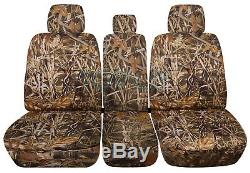 11-20 Ford F-150/F-250/F-350 Truck 40-20-40 Camo Seat Covers +Console F-Series