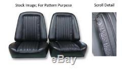 1969-1970 Chevrolet Truck & Blazer Bucket Front Seat Cover Pair