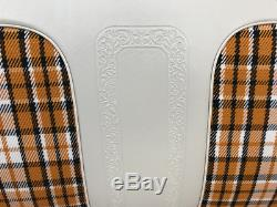 1969-72 Chevy Truck Highlander Seat Cover C-10 Chevrolet Pickup With Scroll