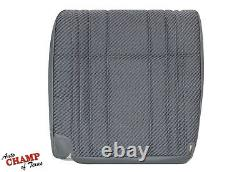 1994 1995 1996 1997 Ram 3500 Work Truck-Driver Side Bottom Cloth Seat Cover Gray