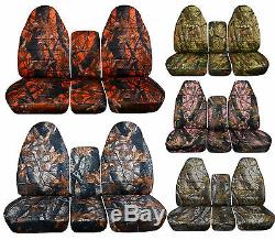 1994 to 2002 Dodge Ram 40/20/40 Truck Seat Covers Integrated Seat Belt Option