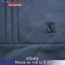 1995 1996 1997 1998 Chevy Silverado WORK TRUCK Bottom Bench Vinyl Cover Blue