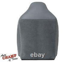 1995 1996 Dodge Ram Work Truck Base -Driver Side Complete Cloth Seat Covers Gray