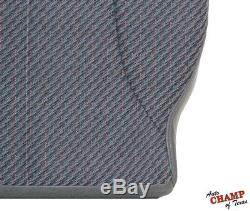 1998 1999 2000 Dodge Ram 2500 Work Truck WithT-Driver Bottom Cloth Seat Cover Gray
