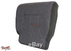 1998 1999 Dodge Ram 1500 Work Truck -Driver Side Bottom Cloth Seat Cover Dk Gray