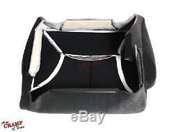 1998-2002 Dodge Ram Work Truck Base -Driver Side Bottom Cloth Seat Cover Dk Gray