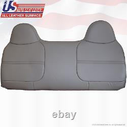 1999 2000 2001 2002 Ford F250 XL Work Truck Bench Lean Back Vinyl Cover Gray