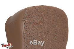 1999 Chevy Silverado 1500 Work Truck WT-Driver Side Bottom Cloth Seat Cover Tan