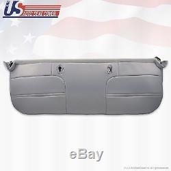 1999 Ford F250 F350 F450 F550 XL Work Truck Bottom Bench Vinyl Seat Cover Gray