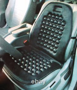 1x UNIVERSAL Car Van Taxi Truck Seat Cover Black Massage Health Cushion