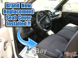 2000 2001 Dodge Ram 1500 2500 Work Truck -Driver Bottom Cloth Seat Cover Dk Gray
