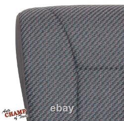 2000 2001 Dodge Ram 1500 2500 Work Truck ST -Driver Bottom Cloth Seat Cover Gray