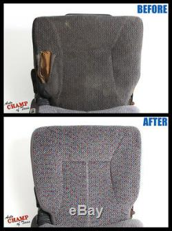 2000 2001 Dodge Ram 1500 Work Truck -Driver Side Bottom Cloth Seat Cover Dk Gray