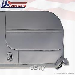 2000 Ford F250 F350 F450 F550 XL Work Truck Bottom Bench Vinyl Seat Cover Gray