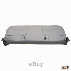2000 Ford F450 F550 XL Work Truck Bottom Replacment Vinyl Bench Seat Cover Gray