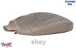 2001-2002 Chevy Silverado Work Truck -Passenger Side Bottom Cloth Seat Cover Tan