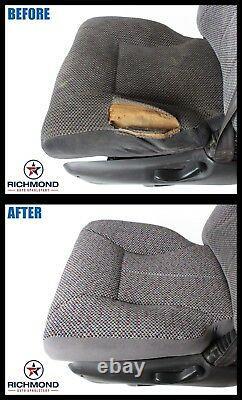 2001-2002 Chevy Silverado Work Truck -Passenger Side Bottom VINYL Seat Cover Tan