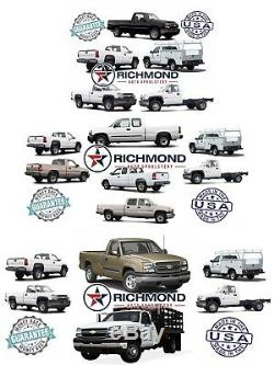 2001-2002 Chevy Silverado Work Truck WT -Driver Side Bottom VINYL Seat Cover Tan