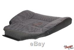 2001 2002 Dodge Ram 3500 Work Truck -Driver Side Bottom Cloth Seat Cover Dk Gray