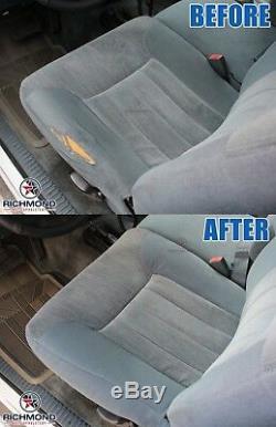 2001 2002 GMC Sierra 2500HD Work Truck -Driver Side Bottom VINYL Seat Cover Gray