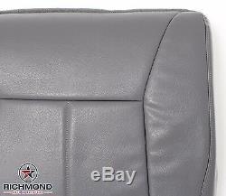 2001 Dodge Ram 1500 2500 3500 Work Truck -Driver Bottom Vinyl Seat Cover Gray