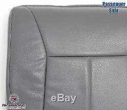 2001 Dodge Ram 1500 2500 3500 Work Truck -Passenger Bottom Vinyl Seat Cover Gray