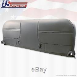 2001 Ford F250 F350 F450 F550 XL Work Truck Bottom Bench Vinyl Seat Cover Gray