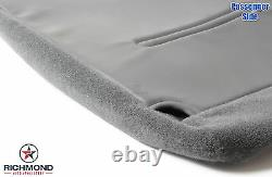 2002-2007 Ford F250 F350 XL Work Truck -Passenger Bottom Vinyl Seat Cover Gray