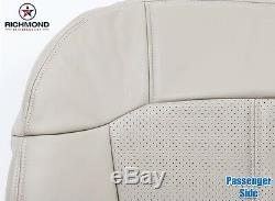 2002 Cadillac Escalade EXT Truck -PASSENGER Side Bottom Leather Seat Cover TAN