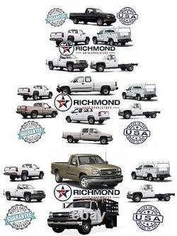 2002 Chevy Silverado Work Truck Driver Side Lean Back VINYL Seat Cover Dk Gray