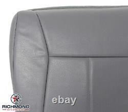 2002 Dodge Ram 1500 2500 3500 Work Truck -Driver Bottom Vinyl Seat Cover Gray