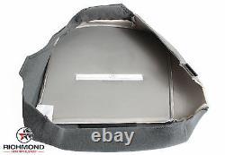 2002 F250 F350 F450 F550 XL Work Truck -Driver Side Bottom Vinyl Seat Cover Gray