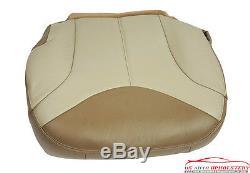2002 GMC Sierra Denali Truck Driver Bottom Leather Seat Cover 2-Tone Shale/Tan