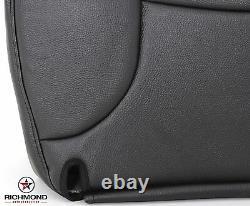 2002 Ram 1500 Base ST Work Truck -Driver Side Bottom Vinyl Seat Cover Dark Gray